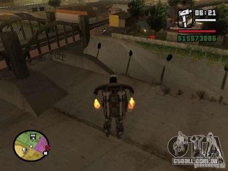 A água de padrão para GTA San Andreas segunda tela