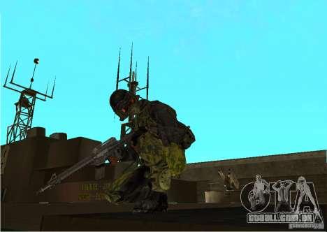 Pele de Battlefield 3 para GTA San Andreas segunda tela
