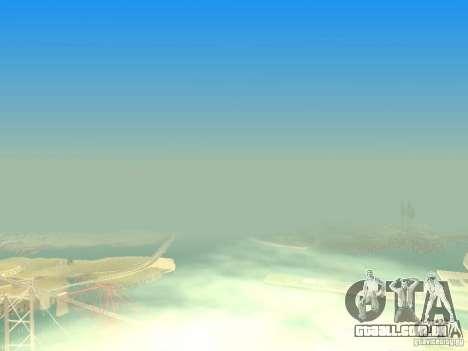 New Sky Vice City para GTA San Andreas décimo tela