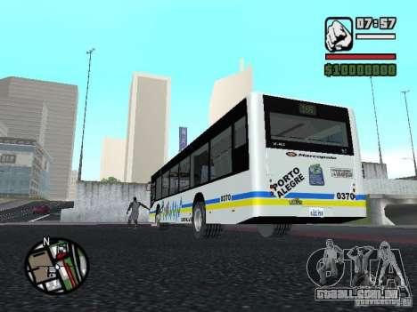Onibus para GTA San Andreas vista direita