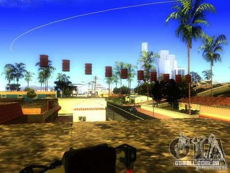 Bomba para GTA San Andreas por diante tela