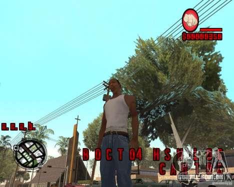 HUD by Russkiy para GTA San Andreas