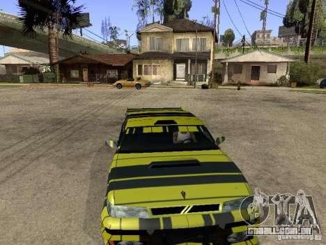 Vinil para sultão para GTA San Andreas vista traseira
