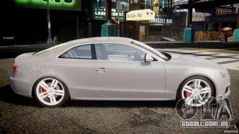 Audi S5 v1.0 para GTA 4 esquerda vista