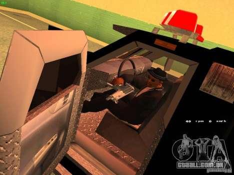 Swat III Securica para GTA San Andreas vista direita