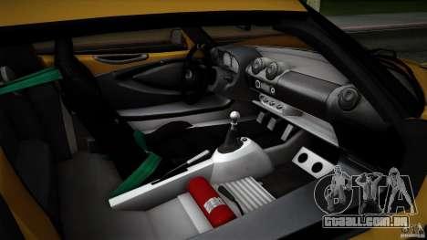 Lotus Exige Track Car para as rodas de GTA San Andreas