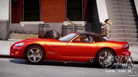 Dodge Viper SRT-10 2003 1.0 para GTA 4 esquerda vista