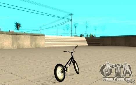 Trail Bike para GTA San Andreas traseira esquerda vista