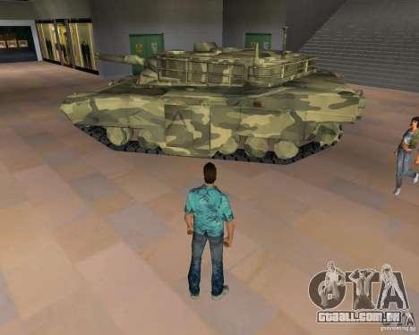 Tanque de Camo para GTA Vice City segunda tela