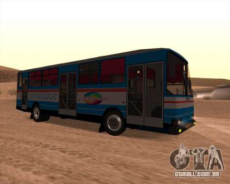 AUTOSAN H10-11B Orenburg para GTA San Andreas traseira esquerda vista