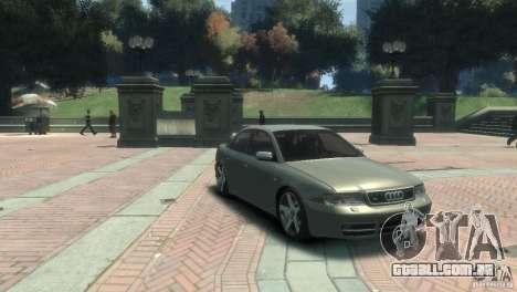 Audi S4 para GTA 4 traseira esquerda vista