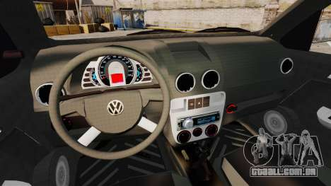 Volkswagen Gol G4 Edit para GTA 4 vista interior