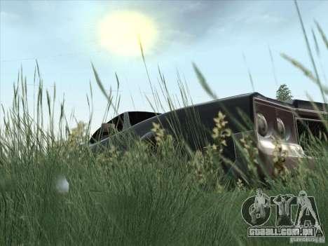 Sabre HD para GTA San Andreas vista traseira