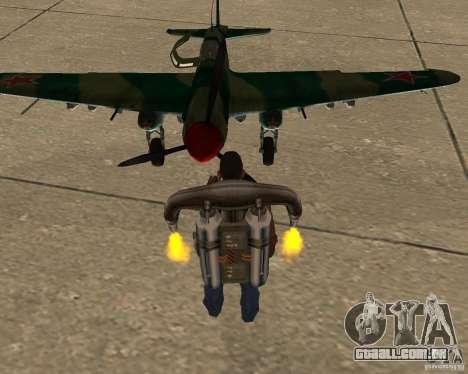 Il-2 m para GTA San Andreas vista traseira