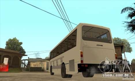 LAZ 42078 (forro-10) para GTA San Andreas traseira esquerda vista