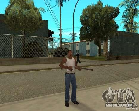 Armas de STALKERa para GTA San Andreas quinto tela