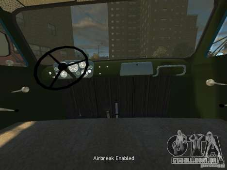 Gaz 52 HotRod para GTA 4 vista de volta