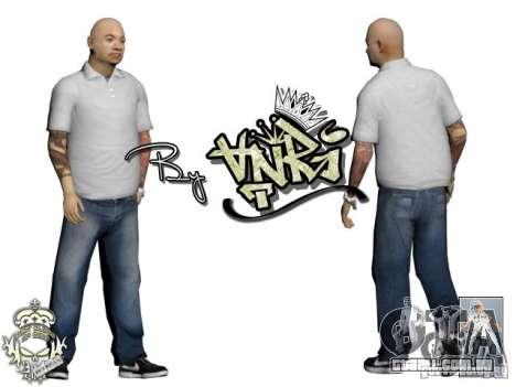 Skins Pack Yakuza para GTA San Andreas segunda tela