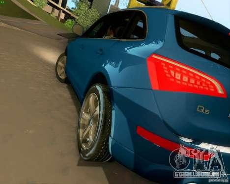 Audi Q5 para GTA San Andreas vista inferior