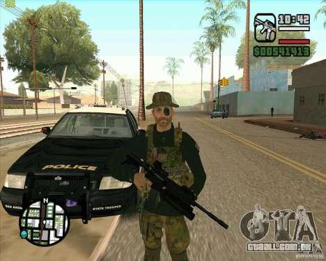 Praice pele de COD 4 para GTA San Andreas segunda tela