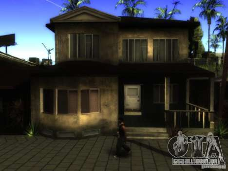 ENB Series Project BRP para GTA San Andreas quinto tela
