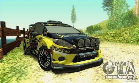 Ford Fiesta Rockstar Energy para GTA San Andreas