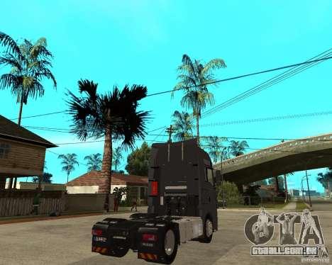 Man TGA para GTA San Andreas traseira esquerda vista