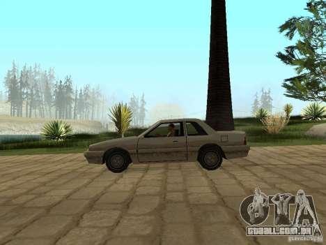 Suspensão a ar para GTA San Andreas por diante tela