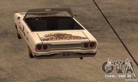 Pintura de savana para GTA San Andreas terceira tela