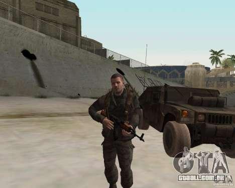 Alex Mason para GTA San Andreas terceira tela