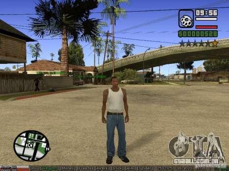 Armas de Pak para GTA San Andreas por diante tela