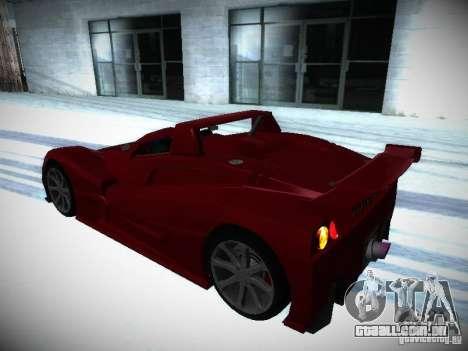 Lada Revolution para GTA San Andreas vista interior