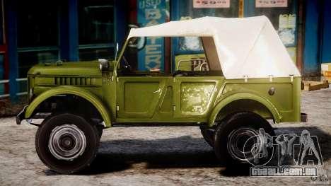 Gaz-69A, 1965 para GTA 4 esquerda vista