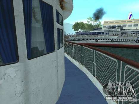 TH 623-Rio para GTA San Andreas vista interior