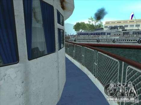 TH 623-Rio para GTA San Andreas vista interior