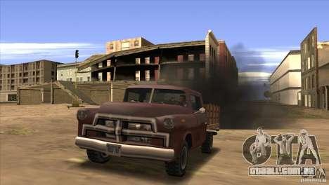 Diesel v 2.0 para GTA San Andreas por diante tela