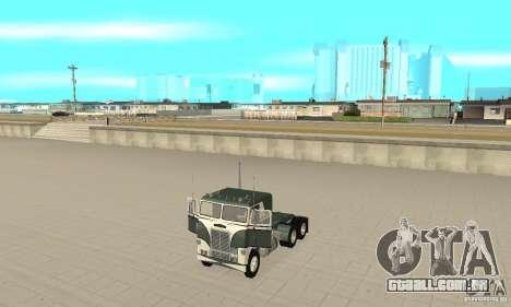 White Freightlinner 1966 para GTA San Andreas vista traseira