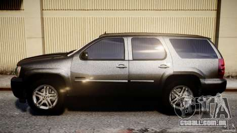 Chevrolet Tahoe 2007 para GTA 4 esquerda vista