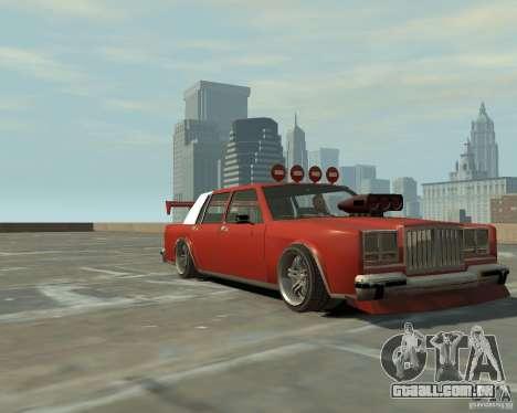 Greenwood sintonizado de San Andreas para GTA 4 esquerda vista