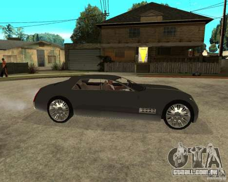 Cadillac Sixteen para GTA San Andreas vista direita