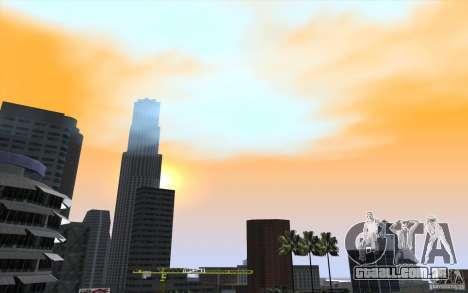 Timecyc Los Angeles para GTA San Andreas sétima tela