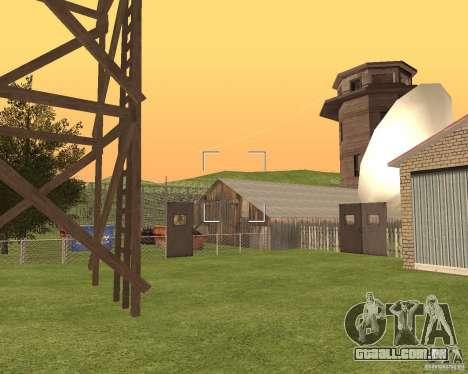 Base Gareli para GTA San Andreas quinto tela