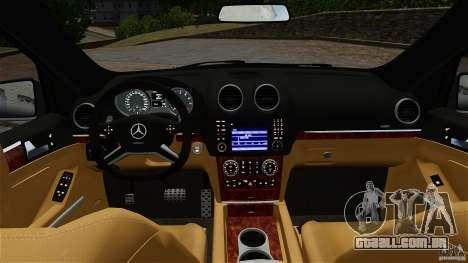 Mercedes-Benz ML63 AMG para GTA 4 vista de volta
