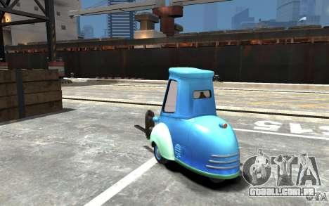 Guido de carros Mater-National para GTA 4 traseira esquerda vista