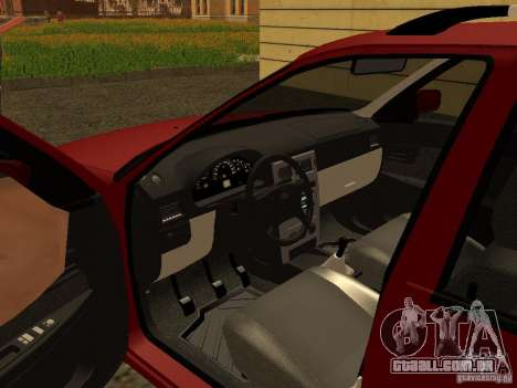 VAZ-2171 para GTA San Andreas vista traseira