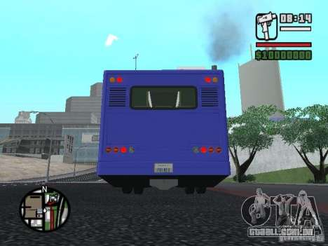 DESIGN X NF260 para GTA San Andreas vista interior