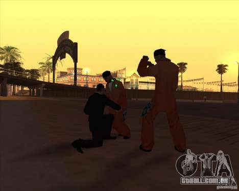 Kick in the balls para GTA San Andreas terceira tela