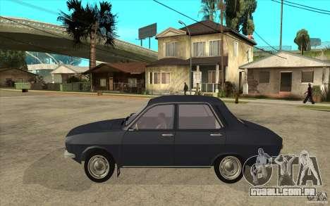 Dacia 1300 v2 para GTA San Andreas esquerda vista