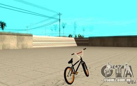 REAL Street BMX para GTA San Andreas traseira esquerda vista