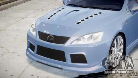 Lexus IS F para GTA 4 motor